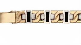 Золотые браслеты с ониксом