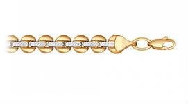 Золотые браслеты без вставок