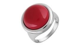 Серебряные кольца с кораллом
