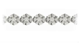 Золотые браслеты с бриллиантами