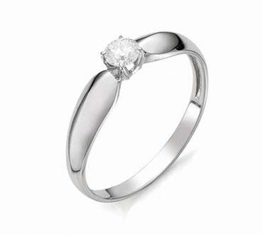Золотые помолвочные кольца с бриллиантами