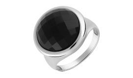 Серебряные кольца с ониксом