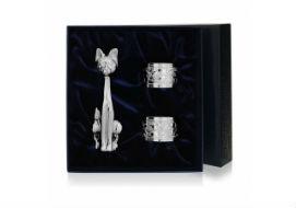 Серебряные кольца для салфеток