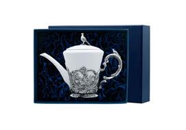 Серебряные чайники
