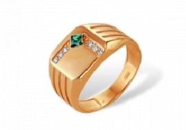 Золотые мужские кольца с корундами