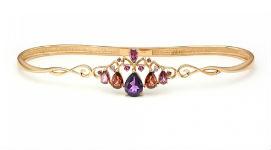 Золотые наладонные браслеты