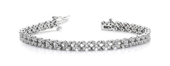 Премиальные дизайнерские браслеты из золота с бриллиантами
