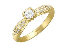 Кольца из золота 750 пробы