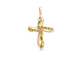 Золотые крестики с султанитами