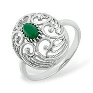 Серебряные кольца с хризопразом