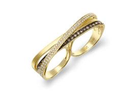 Золотые кольца на два пальца