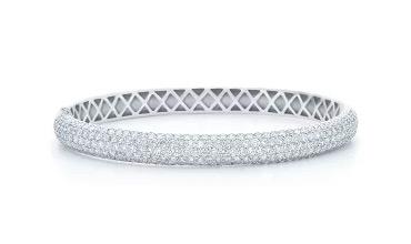 Жесткие премиальные браслеты из золота с бриллиантами