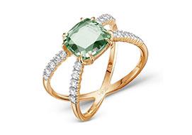 Золотые кольца с турмалинами