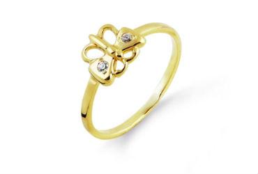Детские золотые кольца
