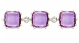 Золотые браслеты с кварцем