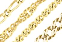 Цепочки из золота 750 пробы