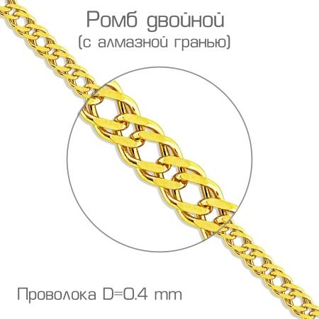 ЦРМ20592040 цепочка из желтого золота