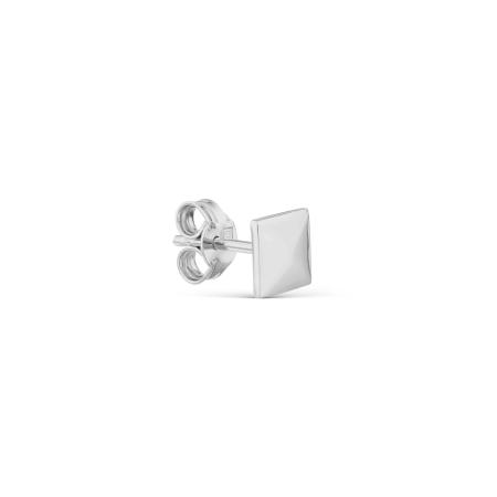 Т300028018 серьги гвоздики геометрия из белого золота