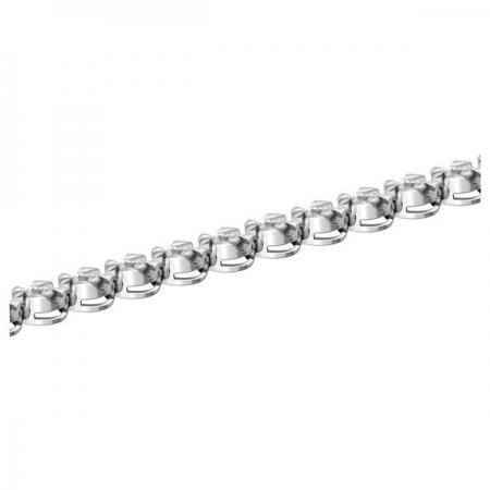 Т-39722 браслет из белого золота с бриллиантами