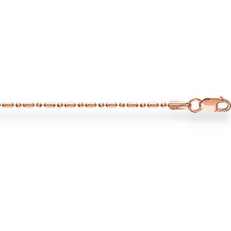 НЦ12-089 золотая цепочка шарик+бочка с алмазной гранью