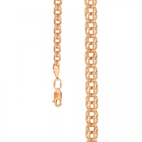 Золотая цепочка плетения Гарибальди