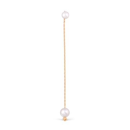 Т108028028 золотые серьги с жемчугом