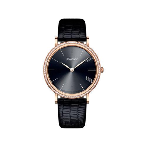Женские золотые часы Harmony