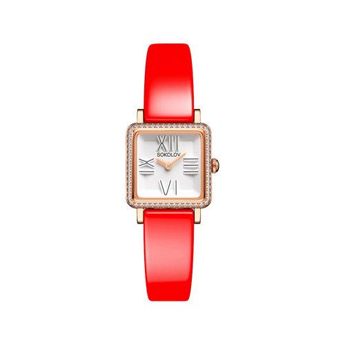Женские золотые часы Diva