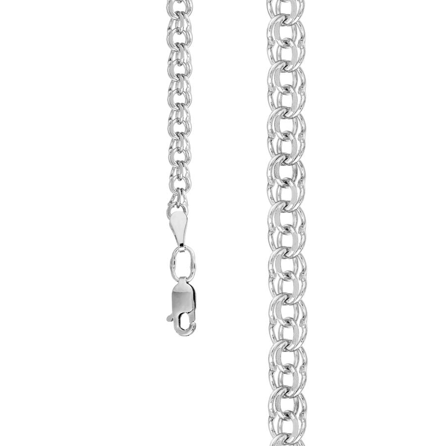 ЦГР00532080 цепочка из белого золота