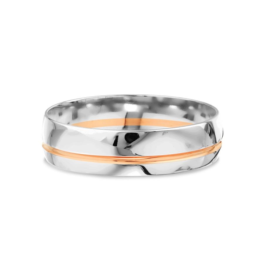 Т130019077 кольцо обручальное из разных цветов золота