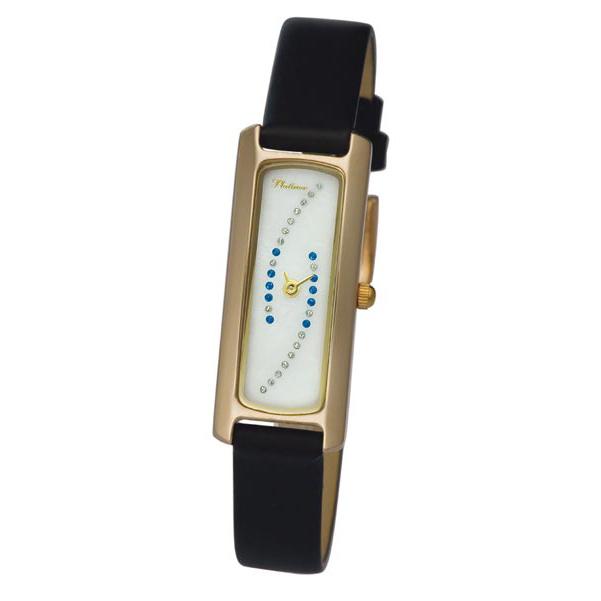 98750.326 женские золотые часы «анжелина»