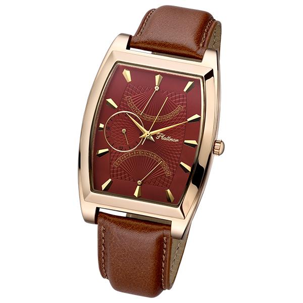 52550.803 мужские золотые часы «дипломат»