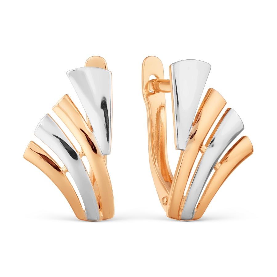 Т140028017 золотые серьги без камней