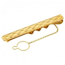 Зажим для галстука из желтого золота