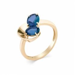 Кольцо из красного золота с топазом Лондон