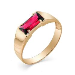 Мужское кольцо из золота c корундом