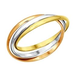 Кольцо из золота без камней SOKOLOV