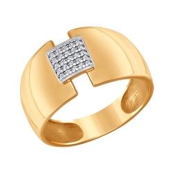 Кольцо из золота с фианитами SOKOLOV