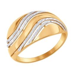Золотое кольцо без камней SOKOLOV
