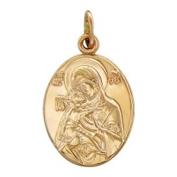 Золотая иконка без камней