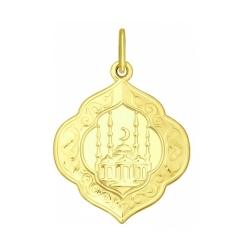 Подвеска из желтого золота SOKOLOV