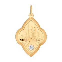 Золотая мусульманская подвеска SOKOLOV