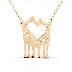 Золотое колье Жирафы