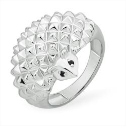 """Кольцо """"Животный мир"""" из серебра 925 с фианитами"""