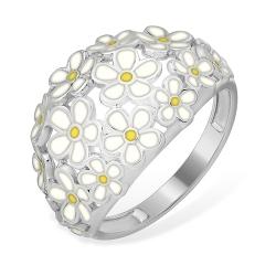 """Кольцо """"Цветочек"""" из серебра 925 без вставок"""