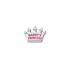 Серебряный значок «Папина принцесса»