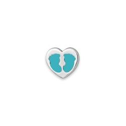 Серебряный значок «Сердце»