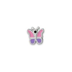 Серебряный значок «Бабочка»