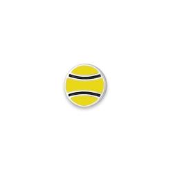 Серебряный значок «Теннисный мяч»