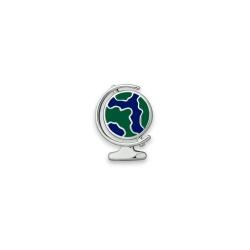 Серебряный значок «Глобус»